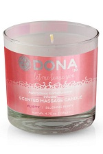 Массажная свеча DONA Scented Massage Candle Flirty Aroma: Blushing Berry 135 г