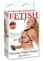 Вибро-насадки на соски  Fetish Fantasy Series Vibrating Nipple Super Suck-hers