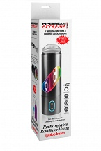 Перезаряжаемый мастурбатор- ротик  Pipedream Extreme Toyz Rechargeable Roto-Bator Mouth