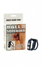 Утяжка на пенис BALL SPREADER MEDIUM черная