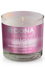 Массажная свеча DONA Scented Massage Candle Sassy Aroma: Tropical Tease 135 г
