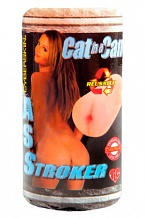 Мастурбатор попка Cat In A Can CyberSkin® Ass Stroker телесная