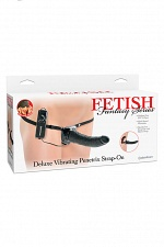 Фаллоимитатор с креплением Fetish Fantasy Series Deluxe Vibrating Penetrix Strap-On