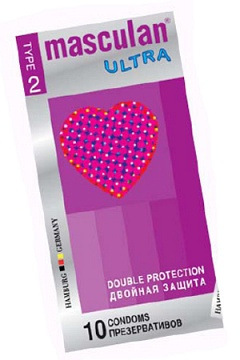 Masculan Ultra 2, 10 шт, *10 Double Protection