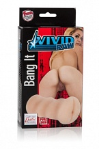 Мастурбатор анус Vivid Raw Bang It (Ass) телесный