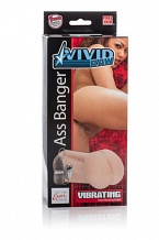 Мастурбатор анус Vivid® Raw™ Ass Banger с вибрацией телесный